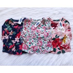 NWT Old Navy LS Top Bundle Size 12-18 Months